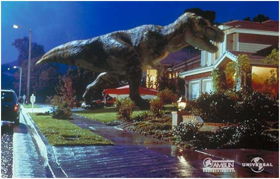 File:Tyrannosaurus rex goes home.jpg