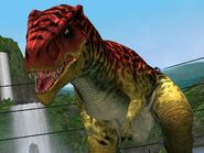 Allosaurus lvl. 30 in Battle