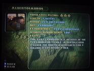Albertosaurus info