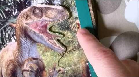 The Lost World Jurassic Park POP-UP book review