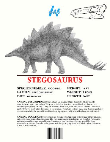 File:Ingen Dinosaur Info Sheets Stegosaurus.png