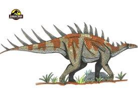 File:Jurassic Park Kentrosaurus by hellraptor.jpg