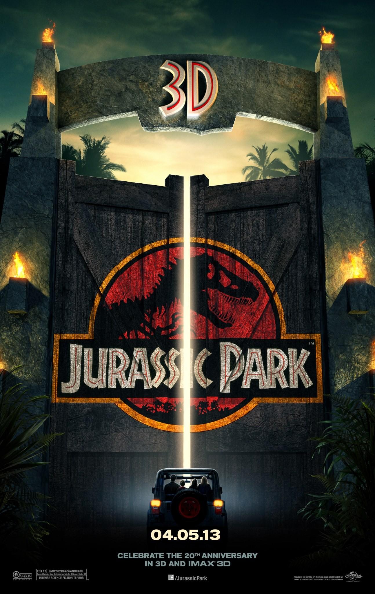 Resultado de imagem para jurassic park 3d