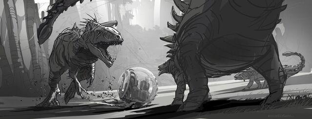 File:JurassicWorld IndominusRex FightSketch.jpg