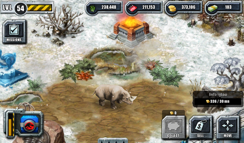 Arsinoitherium | Jurassic Park Builder Wiki | Fandom ...