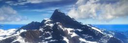 Berawan besar mountains
