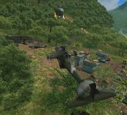The three Guerrilla's Helicopters, together.
