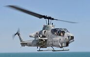 AH-1W Super Cobra assigned to HMLA 167
