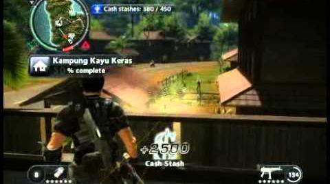 Just Cause 2 - Kampung Kayu Keras - civilian village