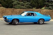 (Real) Mercury Cougar, model 1970