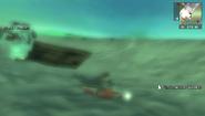 Underwater Scooter under water