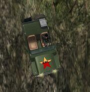 Wallys GP, Guerrilla version, patrol, upper view.