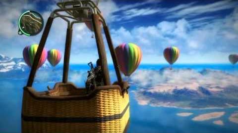 Just Cause 2 Hot Air Balloons