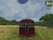 Pankhurst Bus Tap Tap, rear view.
