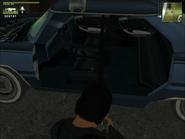 Vaultier Sedan Patrol Compact Interior