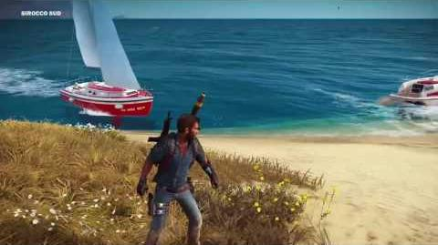 Just Cause 3 Mysterious Boat Island