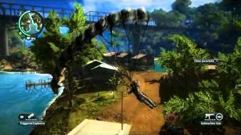 Just Cause 2- settlement completion- Kampung Datuk Tua