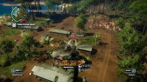 Just Cause 2- settlement completion- Pulau Ketam Besar-0