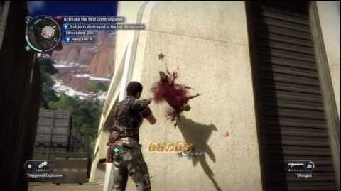Just Cause 2 - Faction Mission - Taking Care of the Dishes