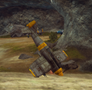 Carmen Albatross (takeoff fail)