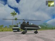 Whiptail Gyrocopter, Agency version, side view.
