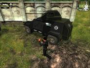 Black Hand Harland AA Gun Rear