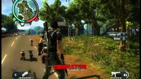 Just Cause 2 - Pekan Dusun Rambutan - civilian village