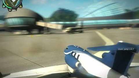 Just Cause 2 Doughnuts with a plane