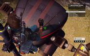Black Hand Eviction Drone Head 1