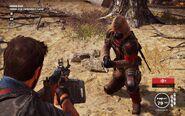 Black Hand Ghost Sniper Crouching