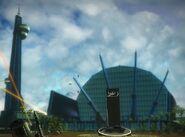 Panau International Airport (main building and tower)