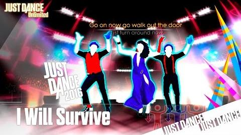 Just Dance Unlimited - I Will Survive On Stage