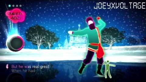 """Just Dance Wii """"Rasputin"""" 5 Stars"""