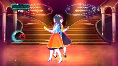 """(ジャストダンス2) JUST DANCE WII 2 WINK """"Samishii Nettaigyo"""""""