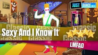 Sexy And I Know It - LMFAO Just Dance Wii U
