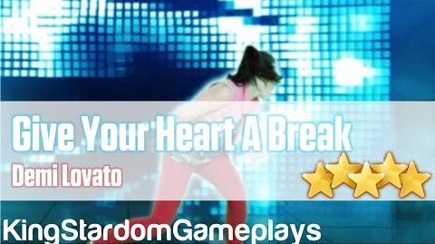 Just Dance Kids 2014 - Give Your Heart A Break - Demi Lovato - 5* Stars
