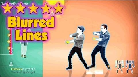 Just Dance 2014 - Blurred Lines - 5* Stars