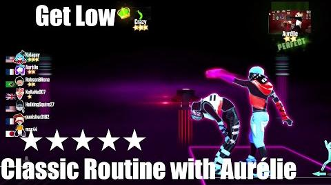 """Get Low"" - Just Dance 2015 - Classic Routine with Aurélie 5* Stars"