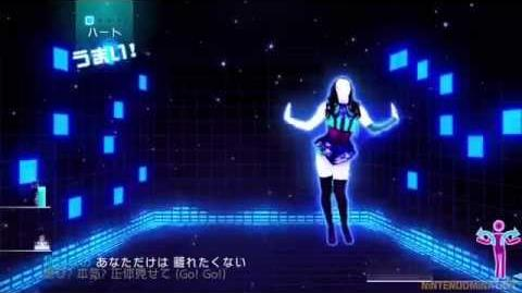 (Full Gameplay) Just Dance WiiU Japan エレクトリックボーイ by Kara
