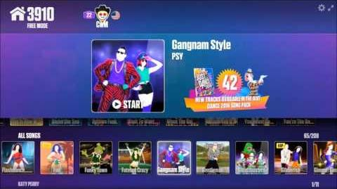 Just Dance Now Full Menu (11 23 15) Part 1
