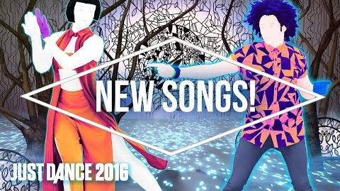 Just Dance 2016 Official Song List - Part 3 US