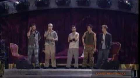 'N Sync - I Thought She Knew acapella (Live in MSG pt. 6 of 9)