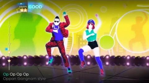 Just Dance 4 Gangnam Style (Psy)