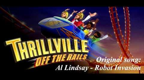 Thrillville Off The Rails Soundtrack - Al Lindsay - Robot Invasion