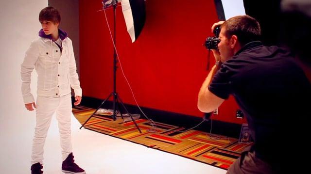 Behind the Scenes Robert Caplin Photoshoot w Justin Bieber
