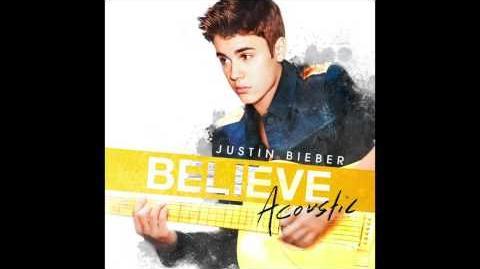 Justin Bieber - Boyfriend (Acoustic) (Audio)
