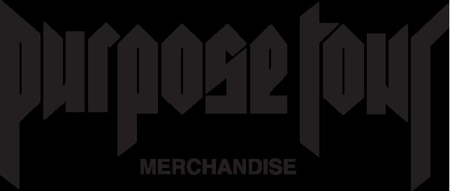 image purpose tour merchandise logopng justin bieber