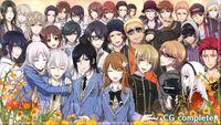 Gakuen K Illustration, CG Complete