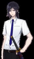 Gakuen K Kuroh Yatogami, Summer school uniform ver.