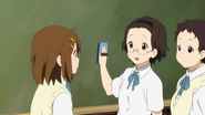 Yui with Chizuru and Keiko